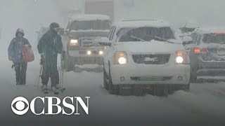 Freezing temperatures grip much of the U.S.