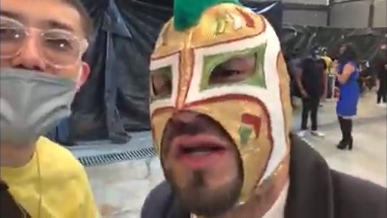 【緊急LIVE】メキシコシティにてルチャリブレのスター選手バンディードの新しいジムオープン記者会見ライブ