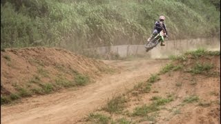 20130804 KX85 Speed Scrub practice