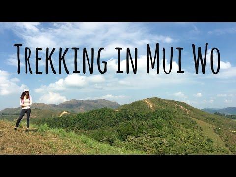Trekking in Mui Wo Hong Kong
