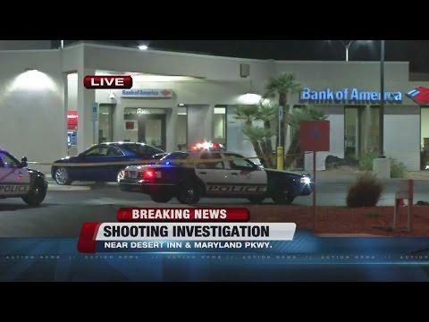 Man shot after leaving Bank of America ATM