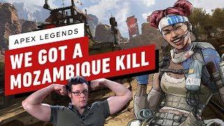 We Got a Mozambique Kill and a Victory- Apex Legends