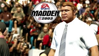 Madden NFL 2003 - (PS2) - Old Madden Cards | Madden Fashback! Memories 2014 Gameplay