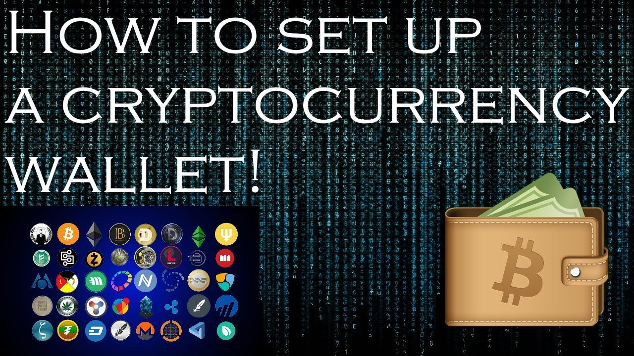 set up cryptocurrency wallet