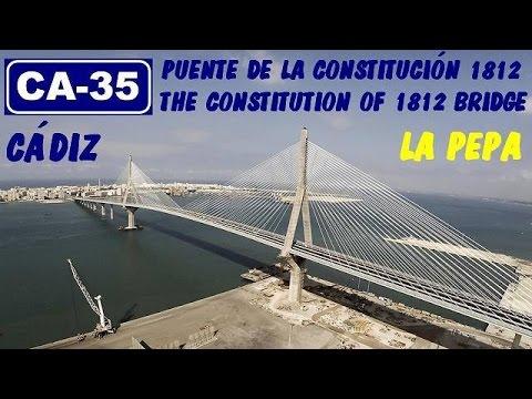 Puente/Bridge : La Pepa , CA-35 Bahía de Cádiz / The Constitution of 1812 bridge - Bay of Cádiz