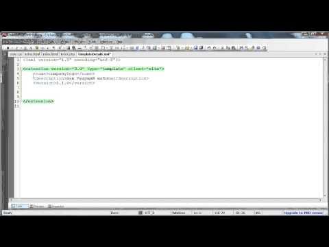 Урок 1. Создание файловой структуры