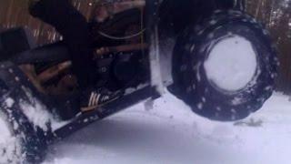 Тюнинг вариатора квадроцикла часть 2. Преднатяг пружины