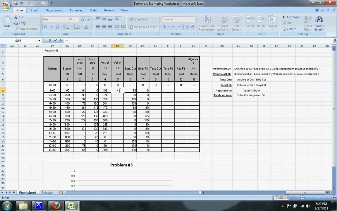 earthwork mass diagram excel sheet kazuma falcon 110 wiring estimating example 3