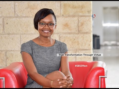 My Strathmore Business School MBA Experience - Sheila Mwarangu