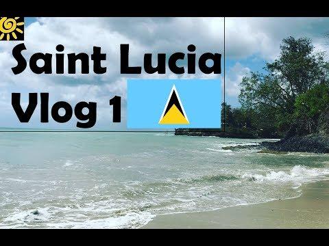 Vlog Day 1 Saint Lucia