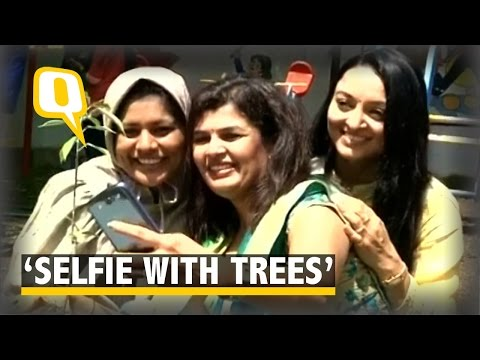 The Quint: Rajkot Deputy Mayor Launches 'Selfi With Trees' Campaign