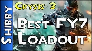 BEST FY7 AR LOADOUT! - Crysis 3 - (Gameplay Commentary #3)