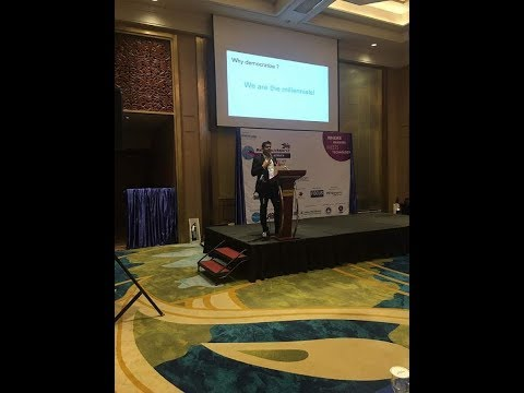 Naveen Desphande Representing KPISOFT at 9th Bank Tech Asia Conference Manila 2017