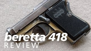 Quickies: the Beretta 418 (aka Bantam or Panther) 25acp pocket pistol