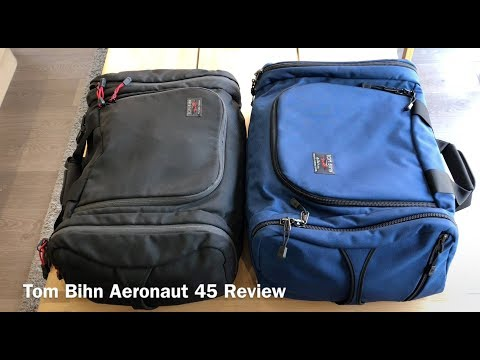 Tom Bihn Aeronaut 45 Review: Old v New Design