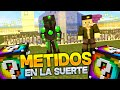 METIDOS EN LA SUERTE!! - Willyrex vs sTaXx - Carrera épica Lucky Blocks