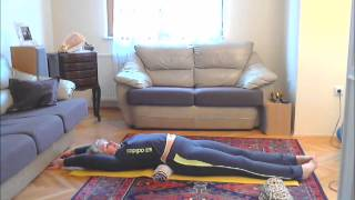 Худеем лежа. Минус 4 см за 5 минут в день! Метод Фукуцудзи.