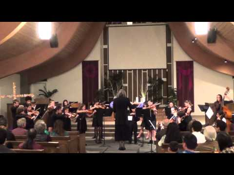 SC Chamber Strings 2015 Winter Concert, Pictures at Exhibition