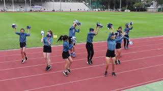 KCCIS Sports day 2019 - Blue House Cheerleading