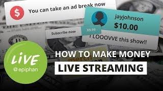 How to make money live streaming