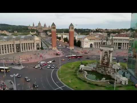 Plaza España - Barcelona vista antes de proclamar su independencia