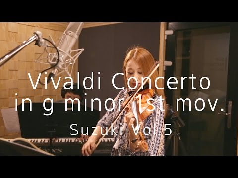 [suzuki Vol.5]#3-1 Vivaldi Concerto in g minor 1st mov.