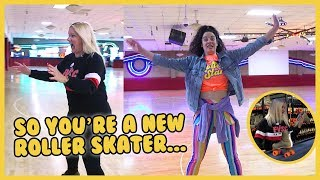 How to Not Look Like a Beginner on Roller Skates