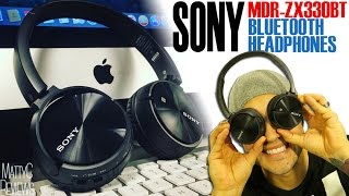 sony MDR-ZX330BT Wireless Bluetooth Headphones  Review