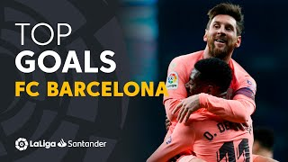 Enjoy with the best goals of fc barcelona players in laliga santander 2018/2019! subscribe to official channel hd | 2019-04-24 00....