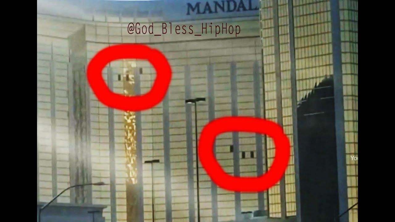 Mandalay Bay Open Windows Muzzle Flash Lower Level