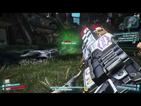 PC 1080p   Borderlands 2 - Creature Slaughterdome DLC Gameplay  