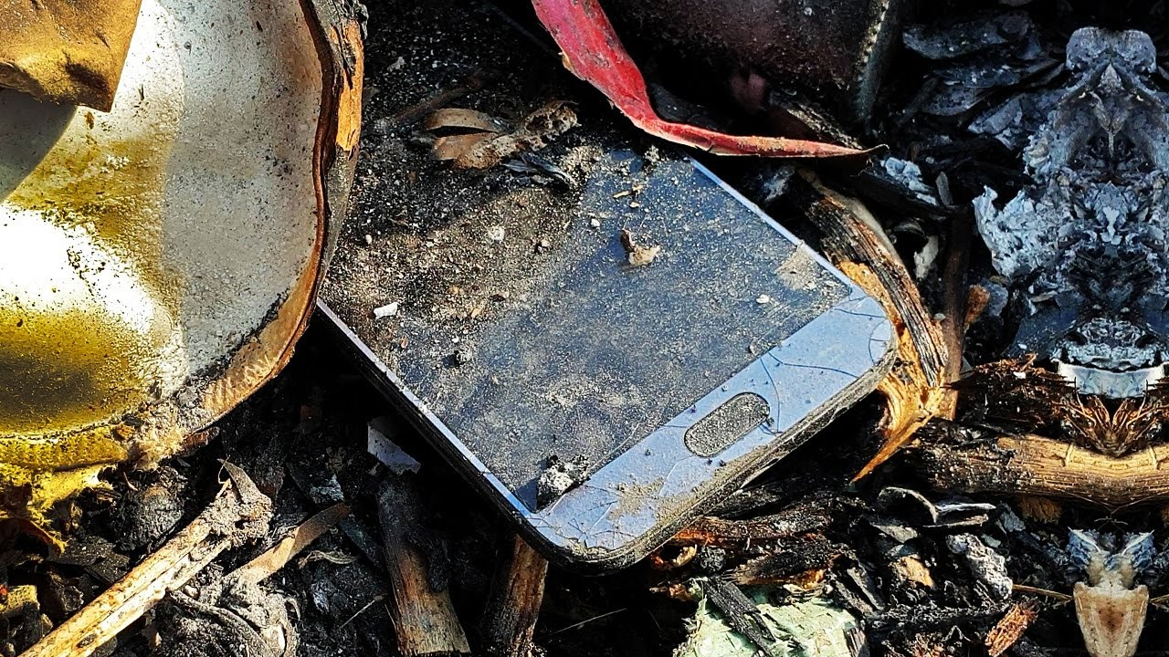 Found broken phone in the rubbish   Restore Galaxy J7 Pro   Restoration destroyed abandoned phone