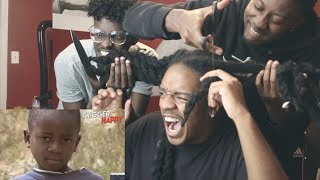 IF I LAUGH THEY CUT MY DREADS !!!!!!!