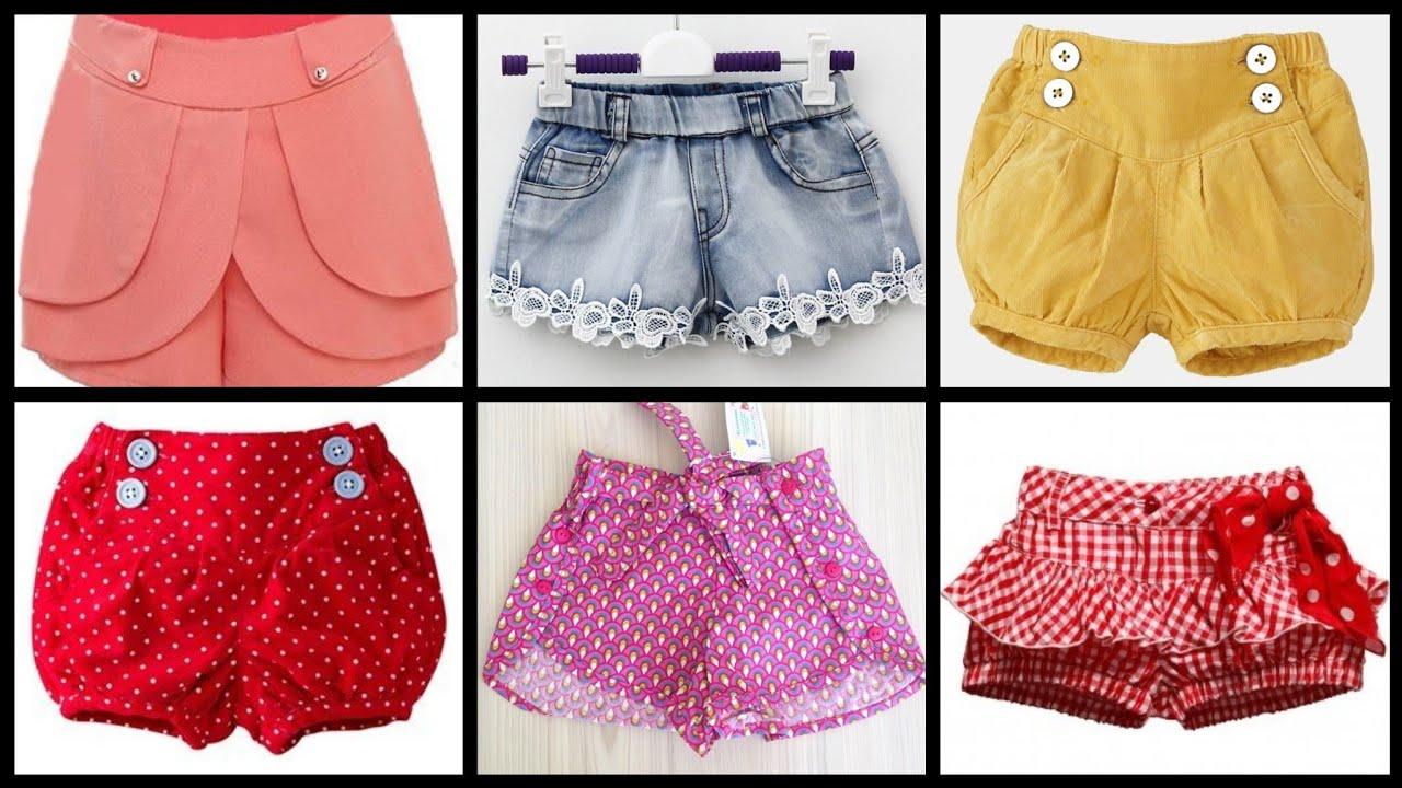 Shorts Sewing Patterns/Baby Girls Ruffled Shorts Style