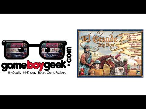El Grande Big Box Review with the Game Boy Geek