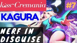 Nerf In Disguise [Rank 2 Kagura] | Kagura Gameplay and Build By kﻨss~Cremania #7 Mobile Legends