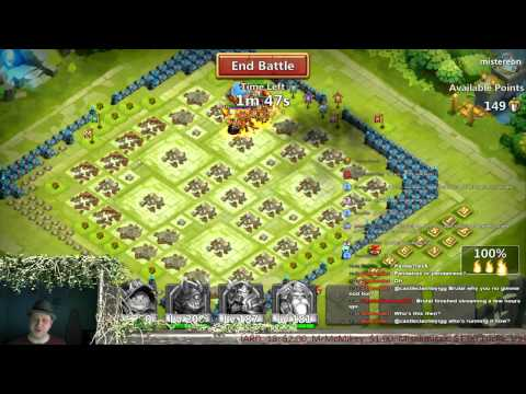 Castle Clash - Guild Wars, HBM AE Sweeps & WG 3 Solo