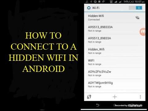 how to join hidden wifi network