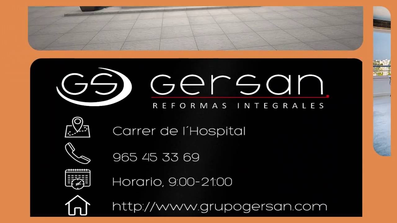 GRUPO GERSAN REFORMAS INTEGRALES ALICANTE - YouTube