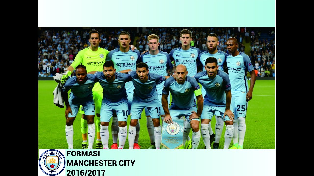Manchester City Formasi 2017