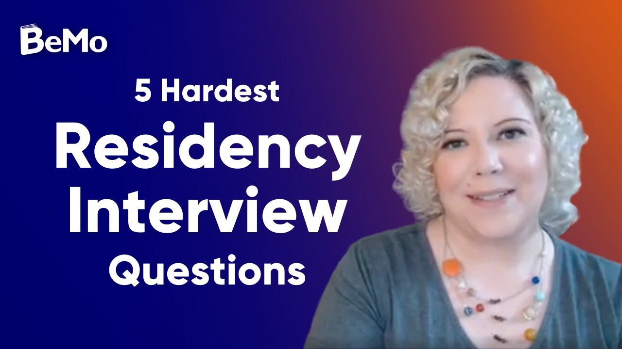 Surprising & Common Residency Interview Questions You Must