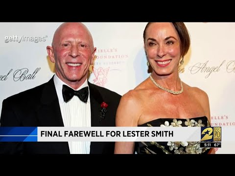 Final farewell for Lester Smith