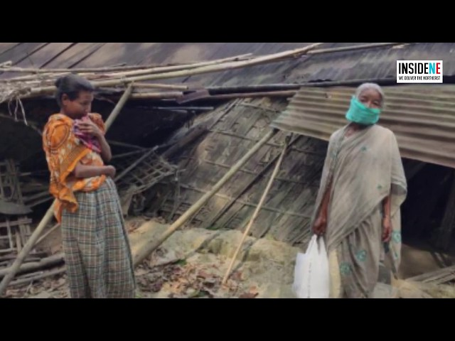 Watch: Old Woman from Jorhat Lives in Broken Hut, Yet to Receive Govt Aid