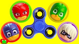 LEARN Colors PJ Masks Fidget Spinner Game