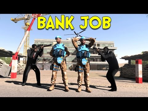BANK JOB! - Arma 3: Life (Takistan) - Ep.5