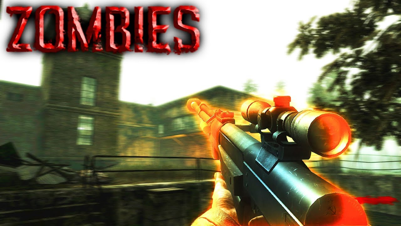 2 PLAYER ONLINE #2 | Call Of Duty World At War Custom Zombie Map | Farm  Swamp #4