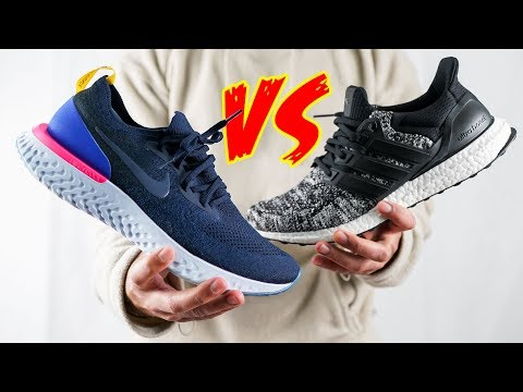 sports shoes f7dc3 869a5 HONEST Nike Epic REACT vs Ultraboost COMPARISON   THE TRUTH