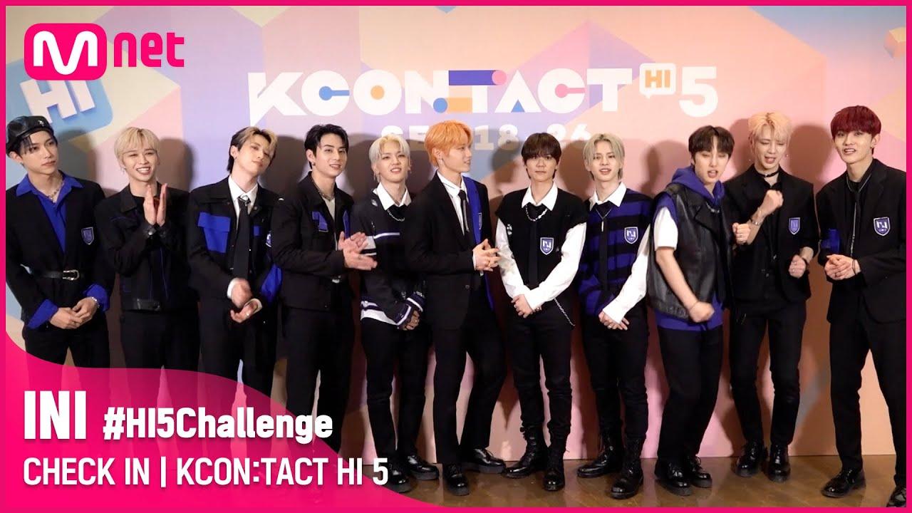 #HI5Challenge 🙋♂ | INI (아이엔아이) | KCON:TACT HI 5