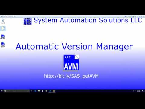 Introducing Automatic Version Manager (AVM) for LabVIEW - System