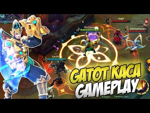 Penta Now Savage! New Hero Gatot Kaca Mighty Guardian Skin Gameplay (Mobile Legends)